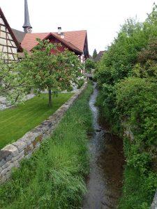 ドイツ・マルターレン村の河川改修